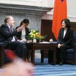 美國兩岸事務團訪台 蔡英文:台灣不會走回對抗老路