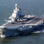 解放軍遼寧艦西出太平洋 首度搭載預警直昇機直-18J