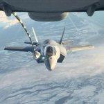 想定奔襲平壤!駐日美軍F-35B在西太平洋上空進行空中加油演練