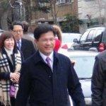 台灣代表團在中方抗議下參加川普就職典禮