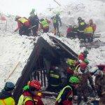 義大利地震雪崩 生還者吃雪熬40小時獲救