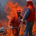智利史上最嚴重森林火災 約7個台北市面積陷入火海