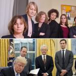 向川普「致敬」》女性官員圍繞下簽署法案 瑞典女副總理推特照諷「男人治國」