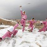 BBC圖輯:阿富汗女孩武功是怎樣練成的?