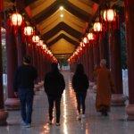 春遊佛光山掛單靈修 梅健華:淨化心靈 獲得開悟
