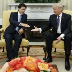 加拿大總理杜魯道首會川普 強調堅定經貿關係 對美國移民政策不予置評