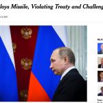 美俄真能交好?俄軍近日頻頻挑釁美軍 紐時揭露俄國祕密部署巡弋飛彈