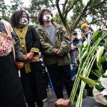 「原住民也要轉型正義!」 原民團體欲見總統 卻遭警阻擋