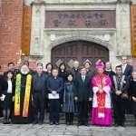 基督教與天主教共同舉辦「二二八70周年和好禮拜」,陳建仁出席