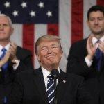 首場國會演說後…美國總統川普的公眾形象開始提升