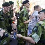 俄羅斯威脅升高、區域情勢緊張 瑞典不但恢復徵兵制,女性也要從軍!