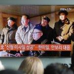 北韓官媒:金正恩親自指導飛彈試射 「有事直接打擊美國侵略軍駐日本基地」