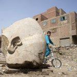 南征北討的埃及法老!考古人員發現法老拉美西斯二世雕像