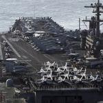 打過敘利亞輪到北韓?美軍卡爾文森號航母打擊群前進朝鮮半島