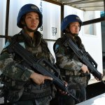 從「女神」到「女漢子」閃耀的藍盔綻放玫瑰——中國維和女兵的故事