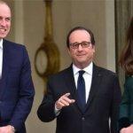 戴安娜去世20年後 威廉王子首訪巴黎