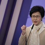 香港特首選舉》北京欽定,毫無懸念 林鄭月娥當選香港第一位女特首