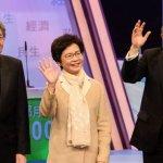 香港特首選舉  三位候選人19日最後辯論交鋒