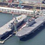 中途島海戰遭擊沉的加賀二代艦 日海上自衛隊第4艘準航艦正式服役