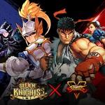 RPG手遊《七騎士》與人氣格鬥遊戲《STREET FIGHTER V》攜手合作