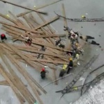 廣州焚燒垃圾發電廠工程鷹架坍塌 至少9死2傷慘不忍睹