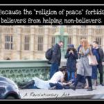 又是一起網路假新聞!英國極右派指控穆斯林女子「冷血」經過孤狼恐攻現場