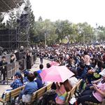 五月天成軍20周年免費開唱,4千人塞爆大安森林公園