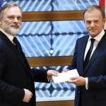 脫歐正式啟動》英國駐歐盟大使遞交分手信 英國脫歐談判兩年倒數  正式開始