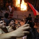 台灣17年前捐6億蓋的!巴拉圭抗議總統修憲求連任 國會大廈遭縱火、至少1人中彈身亡