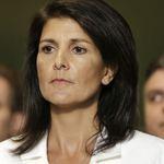 美駐聯合國大使海莉:川普沒阻止我批評俄羅斯