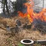 「清明時節雨紛紛、消防隊員欲斷魂」掃墓野火燒不盡 全台墓園火警「遍地開花」