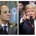 川習會暖身?川普與埃及強人總統塞西會晤 只談反恐合作 絕口不提人權