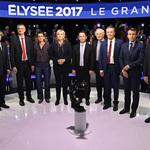11位候選人大亂鬥!法國大選電視辯論史上首見 極左派老將梅蘭雄力壓馬克宏與勒潘