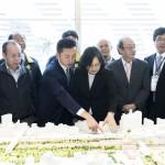 新竹將設輕軌與大車站計畫 蔡英文:不分藍綠的百年建設