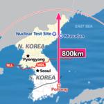 南韓也試射彈道飛彈 號稱「可打到北韓領土任一處」