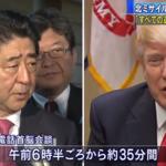 習近平來訪前夕 川普與安倍晉三通話:我們百分之百挺日本!