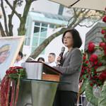 鄭南榕殉道28年,蔡英文:自由民主從來就不是從天上掉下來的