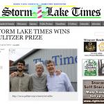2017普立茲新聞獎》揭露汙染黑金 發行量僅3千份的愛荷華小報抱回「社論寫作獎」