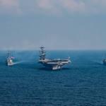 西太平洋集結16艘美軍神盾艦!SM-3飛彈準備就緒 防堵北韓威脅