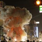 朴子醫院32周年院慶迎媽祖聖誕 施放鞭炮炸虎爺提醒安全防護為首要