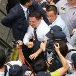 前瞻公聽會強碰年改審查 縣市首長赴立院遭八百壯士攻擊