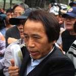 林欽榮遭反年改群眾推擠受傷 柯文哲笑虧:還活著嘛!那繼續工作