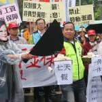 勞團五一遊行,批蔡英文讓資本家吃「勞工豆腐」