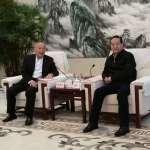 苗栗縣長徐耀昌率團到武漢參訪 達合作共識