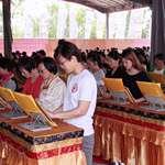中華國際佛教聞修正法會舉辦浴佛祈福法會 莊嚴盛大