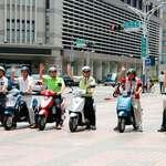 嘉義市電動二輪車試騎體驗 5月6日走入社區假日巡迴