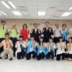嘉義市表揚「保德信青少年志工菁英獎」 8位優秀青少年志工及同學獲獎