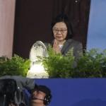 慈濟浴佛大典,蔡總統祈求國泰民安