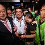 挑戰參加政治活動 中監通過陳水扁為兒站台