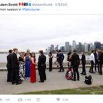 加拿大帥哥總理又闖鏡?推特「亂入」照其實是說好的啦